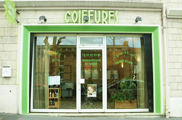 salon de coiffure managehair au naturel - Coiffeur Coloriste Bio Paris